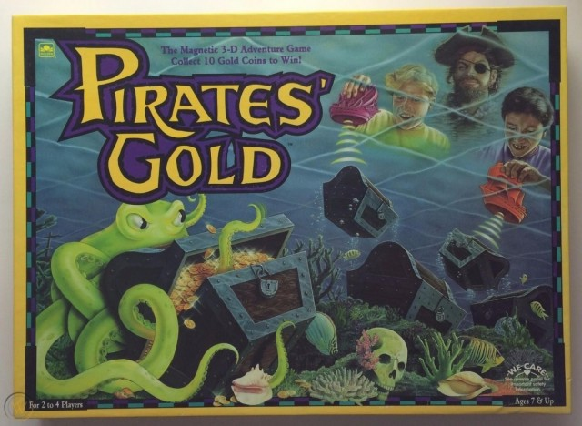 Pirates' Gold (1992) Vintage Board Game Review