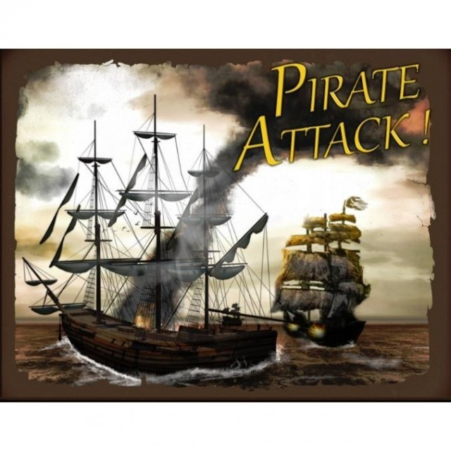Rough Seas Ahead. Pirate Attack! Board Game Review