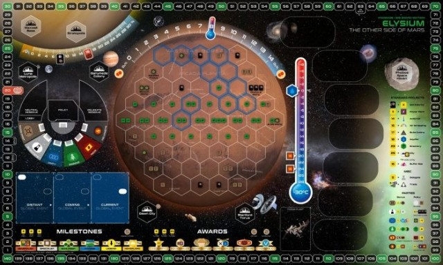 Big Board Editions for Terraforming Mars