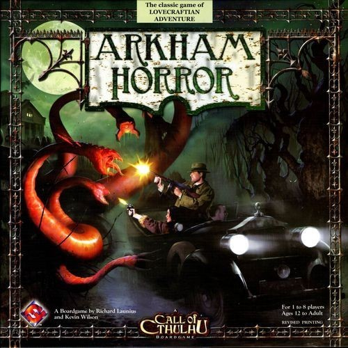 Flashback Friday - Arkham Horror 2nd edition