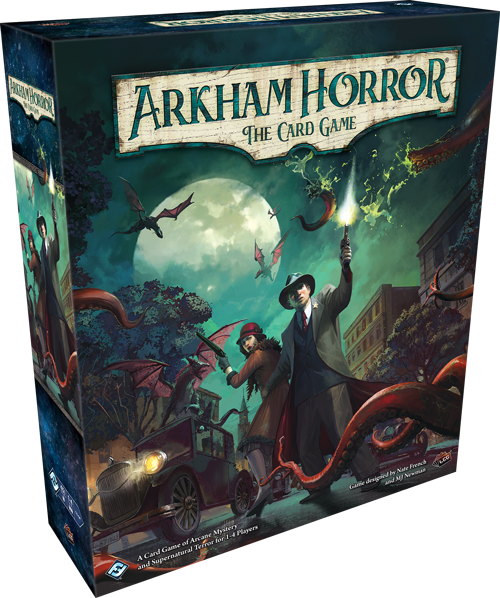 Arkham Horror The Card Game: the greatest deck construction introduction of all time…  if you can get there.