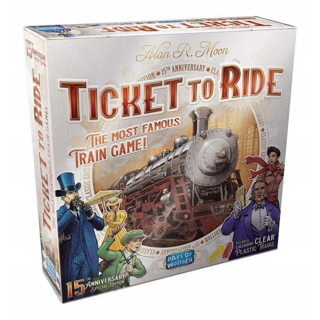 Flashback Friday - Ticket to Ride - Love It or Hate It?