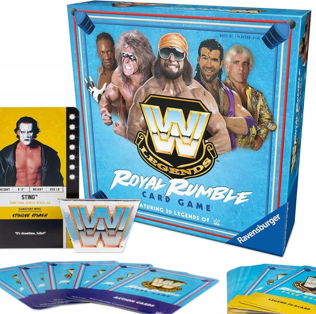 WWE Legends Royal Rumble Card Game in Stores Soon