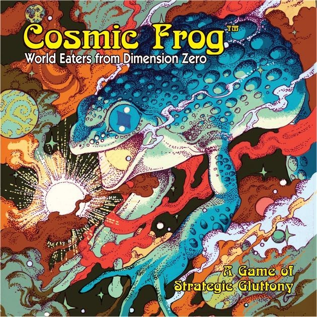Salientian Psychedelia - Cosmic Frog Review