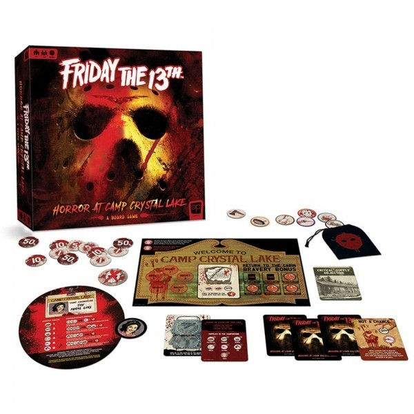 Friday the 13th: Horror at Camp Crystal Lake Available Now at the OP