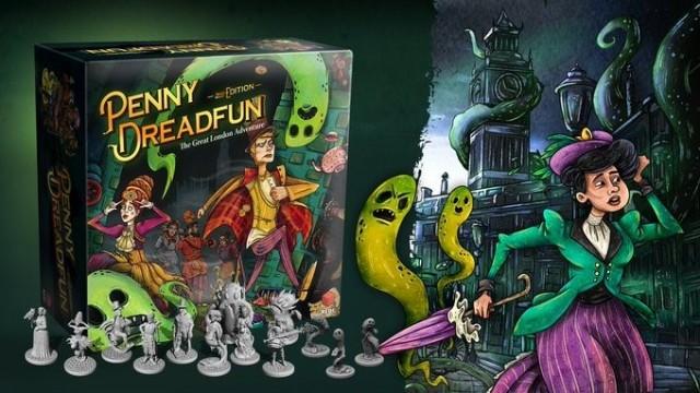 Penny Dreadfun: The Great London Adventure on Kickstarter Now