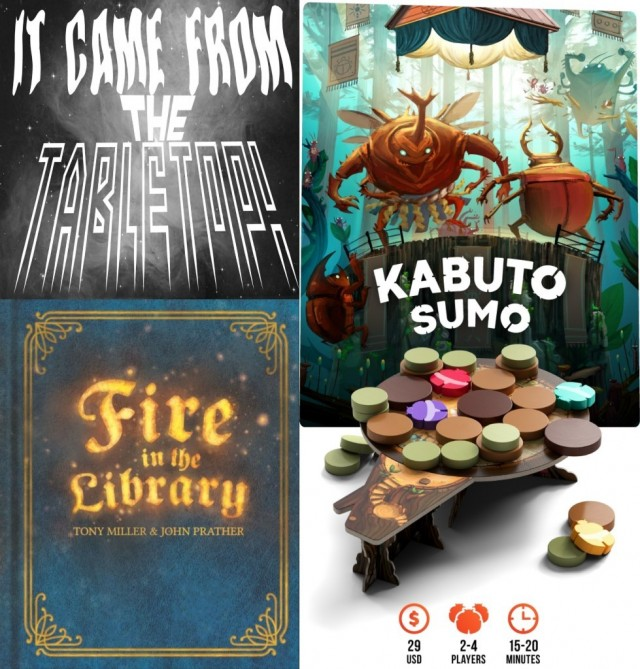 Kabuto Sumo and Fire In the Library with Tony Miller