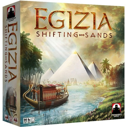 No Dice Rolling on this River: Egizia Shifting Sands Board Game Review