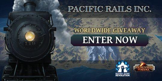 Pacific Rails Inc Worldwide Giveaway