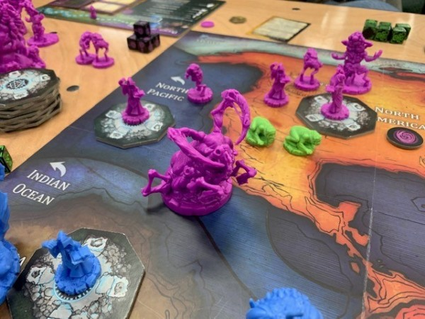Cthulhu Wars - A Five Second Board Game Review
