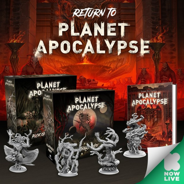 The Return to Planet Apocalypse by Sandy Petersen on Kickstarter Now