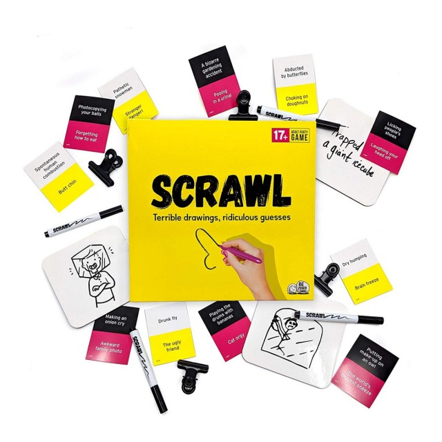 Draw Me Like One of Your French Games - A Scrawl Review