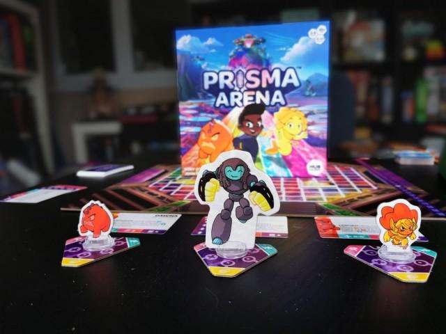 Prisma Arena Board Game Review