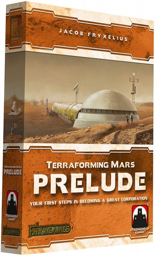 An Anomaly on Mars: A Terraforming Mars: Prelude Expansion Review