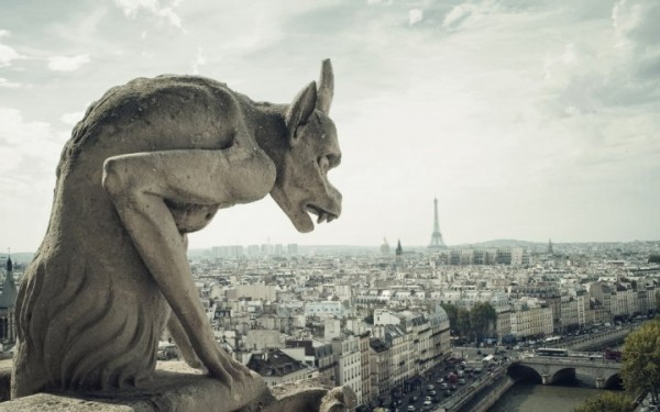 Gargoyle lands with a thud