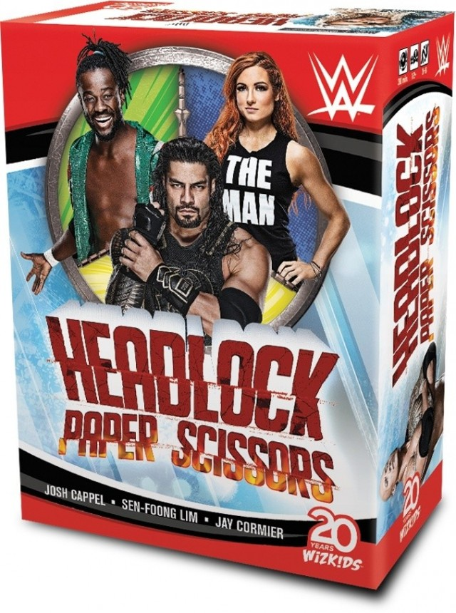 WWE: Headlock, Paper, Scissors Coming From WizKids