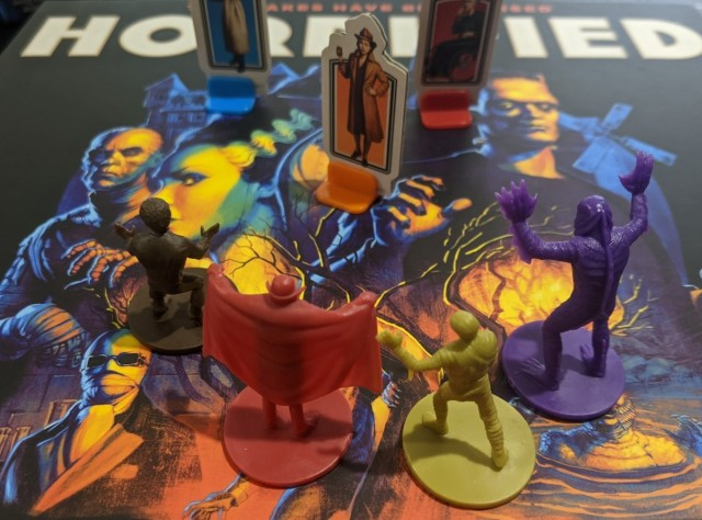 Horrified Review with Comparison to Pandemic